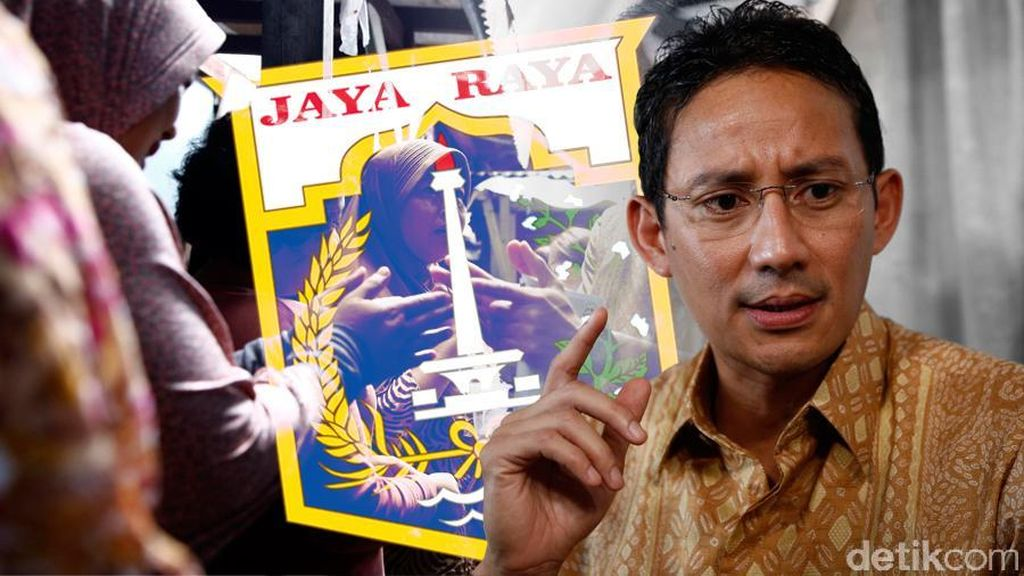 Saat Prabowo Angkat Sandiaga Uno Jadi Penantang Ahok di Bukit Hambalang