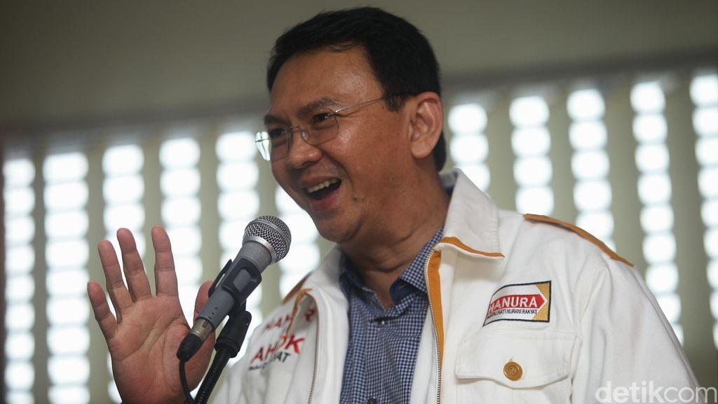 PDIP-Gerindra Koalisi Lawan Petahana, Hanura: Ahok Sulit Tertandingi