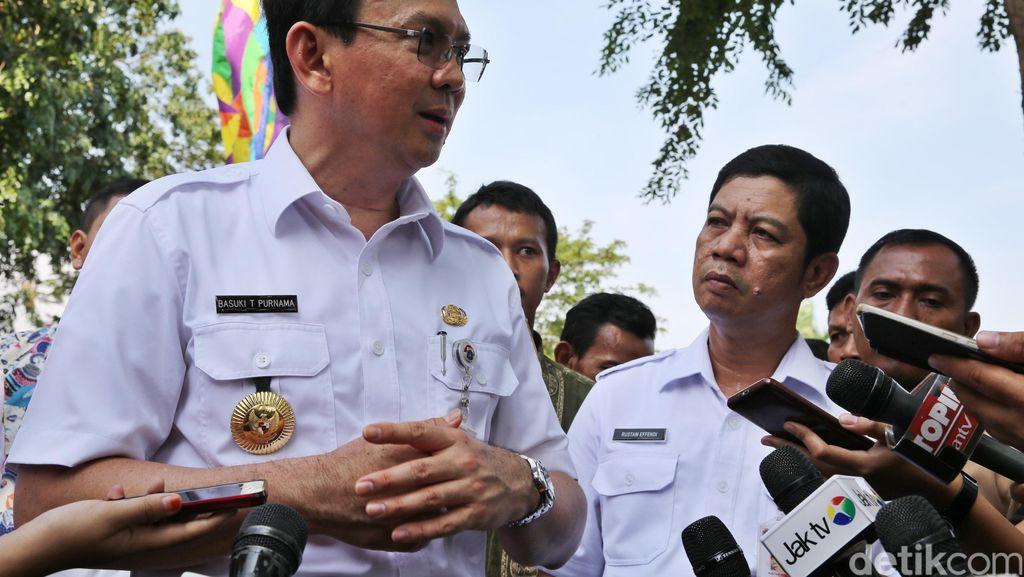 Ahok Blak-blakan Soal Mundurnya Rustam Effendi dari Wali Kota Jakut