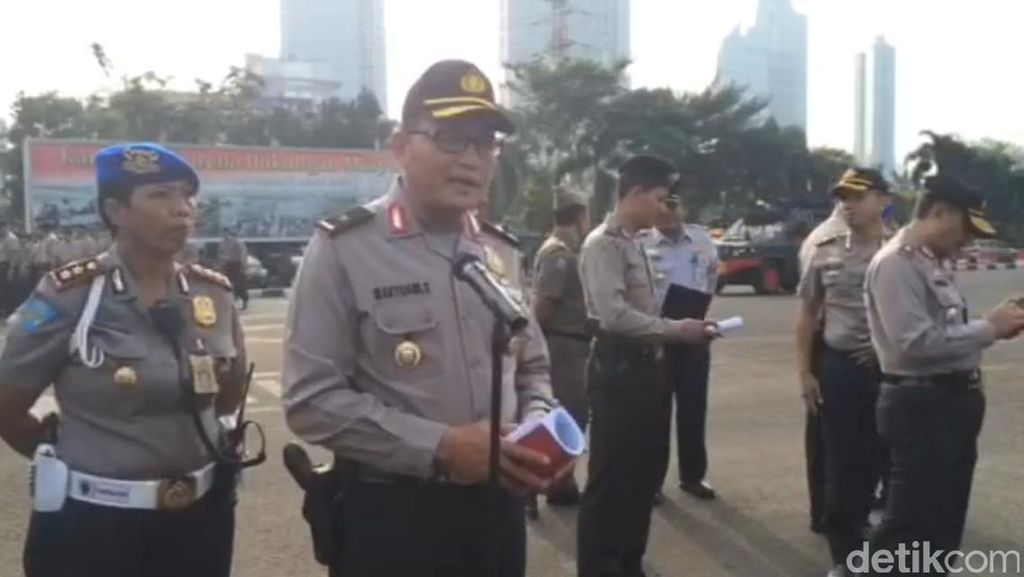 Polisi Imbau Demo Massa Buruh Tak Ganggu Car Free Day di Sudirman-Thamrin