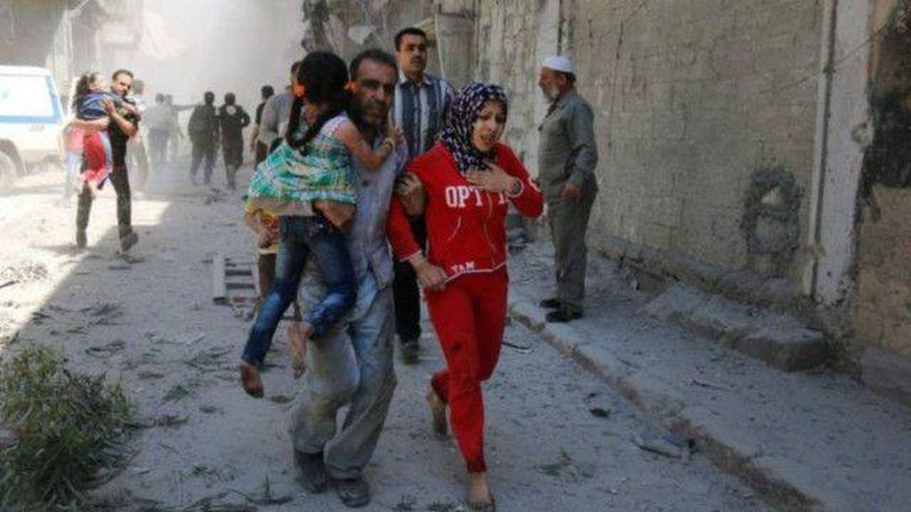 Rumah Sakit Bersalin dan Anak-anak di Suriah Dibom dari Udara