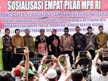 MPR Sosialisasi Empat Pilar di Padang
