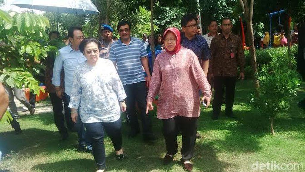 Megawati Menjemput Risma ke Jakarta?