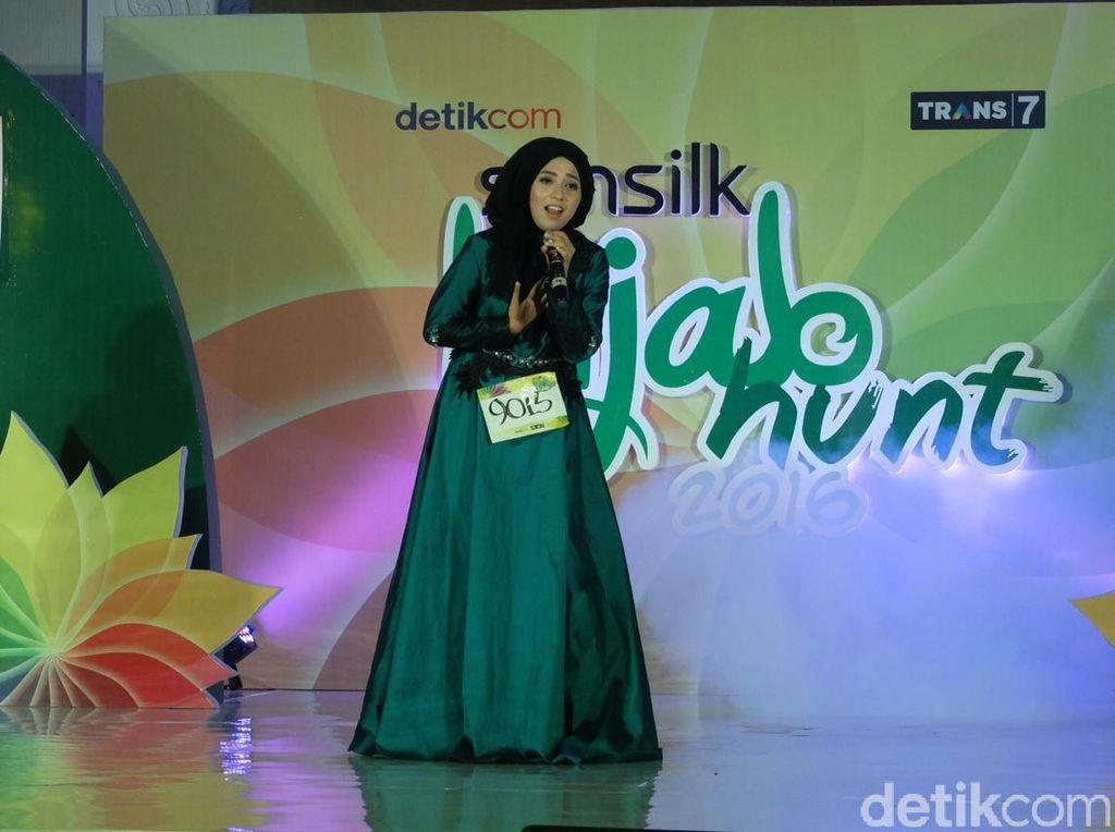 Nyanyi Lagu Melayu, Fitria Sukses Pukau 3 Juri Sunsilk Hijab Hunt