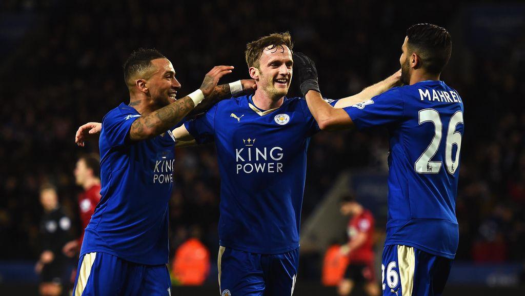 Leicester Menutup Dongengnya dengan Trofi