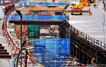 Pengerjaan Proyek MRT Terus Dikebut