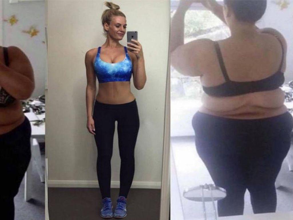 Berhasil Turunkan Berat Badan 96 Kg, Simone Malah Diledek
