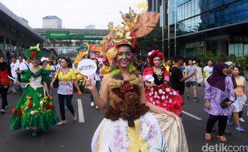 Pawai Tomohon International Flower Festival