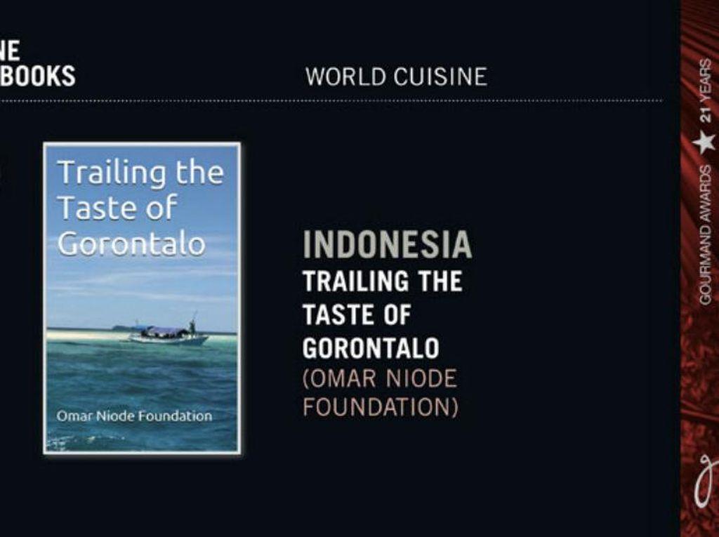 'Trailing the Taste of Gorontalo' Raih Gourmand World Cook Book Award 2016