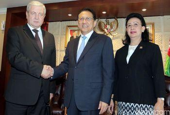 Irman Gusman Terima Wakil PM Belarusia