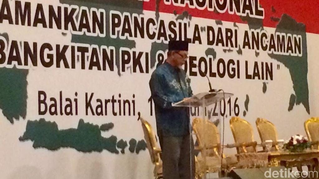 Di Simposium Peringatan Hari Pancasila, MUI: Tiada Maaf Bagi PKI!