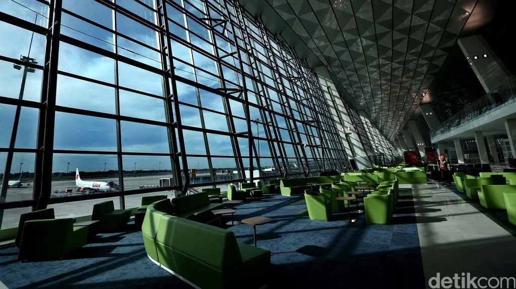 Presdir PT AP II: 2 Minggu lagi Tower di Terminal 3 Ultimate Selesai Dibangun