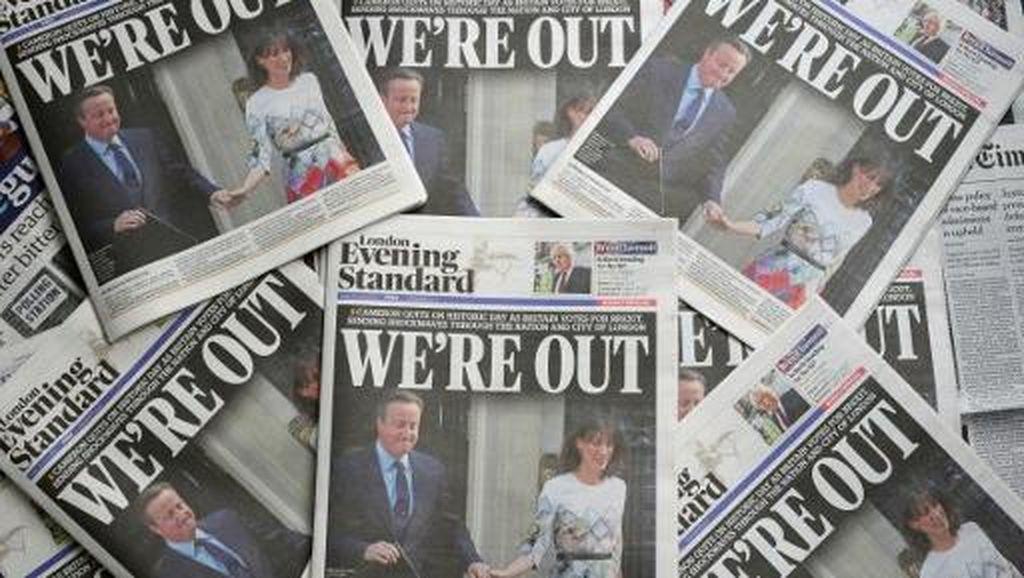 Ketika Surat Kabar di Inggris Ikut Terbelah Soal Brexit