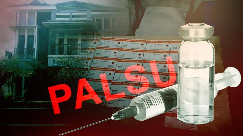 Ini Peran 13 Tersangka Kasus Peredaran Vaksin Palsu yang Dibongkar Polisi