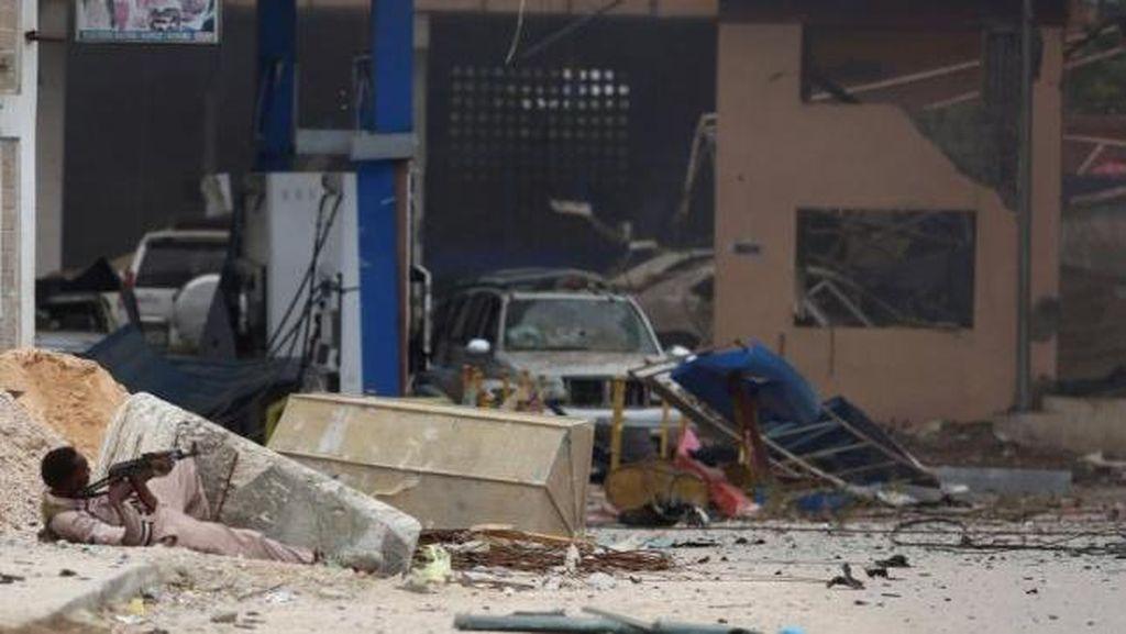 15 Orang Tewas dalam Penyerangan Militan al Shabaab di Hotel Somalia