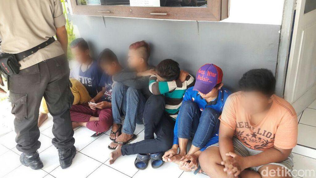 Gerombolan Remaja Tanggung di Semarang Ditangkap Polsuska karena Lempari KA