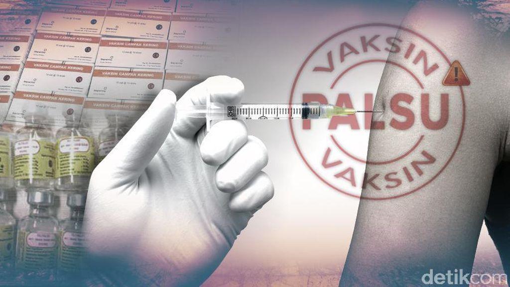 Polisi Mungkinkan Jerat Penyebar Vaksin Palsu dengan UU Perlindungan Anak