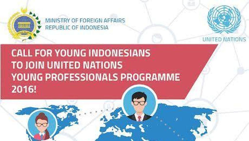 Buat Anak Muda Indonesia: Ingin Berkarier di PBB, Begini Caranya