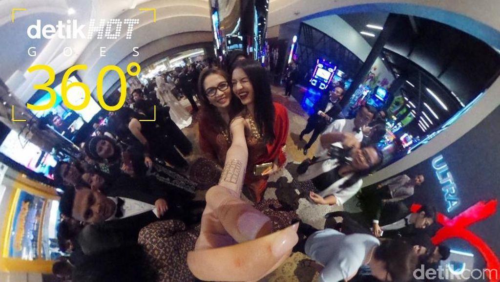 Melihat Para Bintang di Red Carpet 'Rudy Habibie' dari Sudut 360 Derajat
