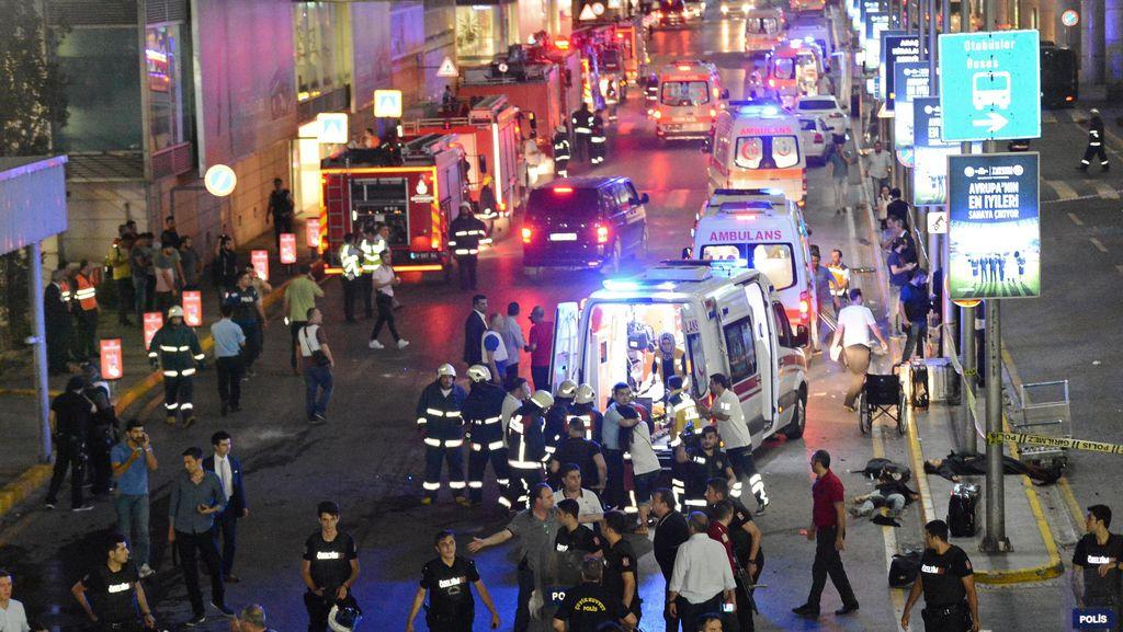 Kembali Diteror Bom, Ini Rentetan Serangan Bom Mematikan di Turki 2016