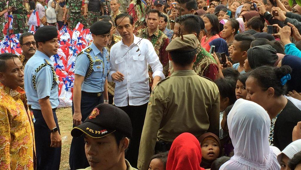 Relawan Dukung Maju Dua Periode, Ini Respons Jokowi