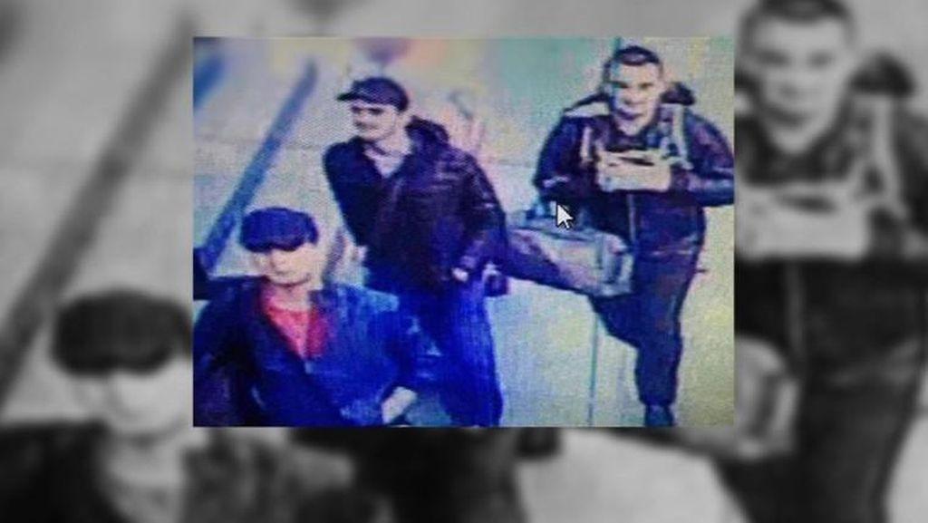 3 Pengebom Bunuh Diri Bandara Istanbul Terekam CCTV, Ini Fotonya