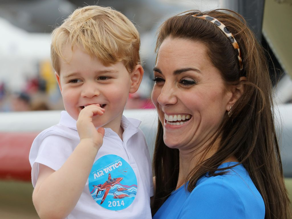 Kate Middleton: Pangeran George Suka Buat Dapur Berantakan