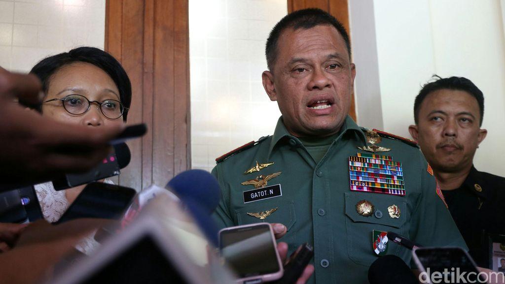 Panglima TNI: Anggota Satgas Tak Sengaja Tertembak, Jangan Saling Menyalahkan