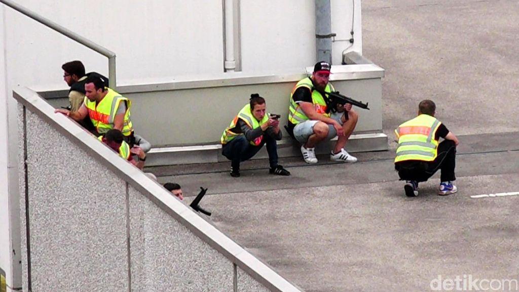 Obrolan Aneh Pelaku Penembakan Munich dengan Saksi Mata di Atap Gedung