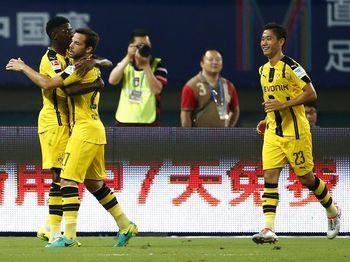 Dortmund Gilas MU 4-1