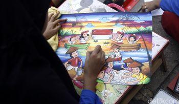 1000 Gambar Sunda Kelapa di Hari Anak Nasional