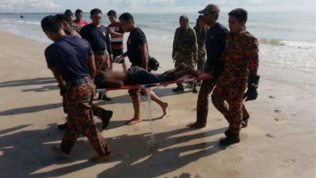 WNI Tewas Korban Kapal Tenggelam di Johor Jadi 10 Orang Plus 1 Bayi