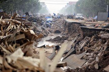 Kerusakan Akibat Banjir di China