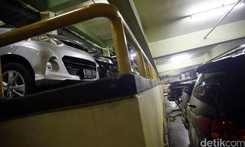 Kantong Parkir untuk Pembatasan Ganjil Genap