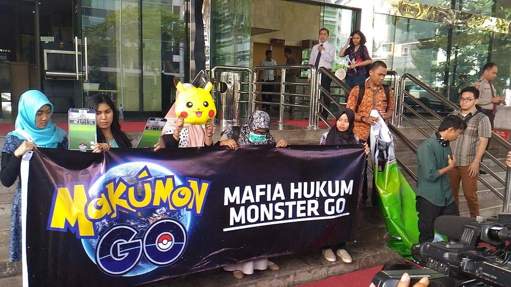 Saat Pimpinan KPK Main 'Makumon Go'