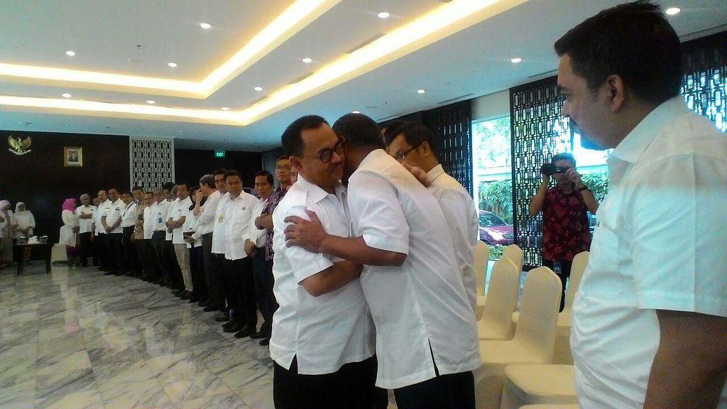 Diwarnai Isak Tangis, Sudirman Said Perpisahan dengan Pegawai ESDM
