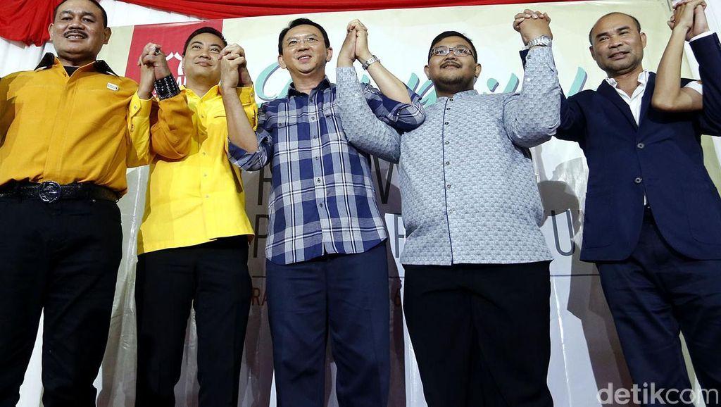 Dulu Pede Independen, Kini Ahok Banting Setir Pilih Jalur Parpol
