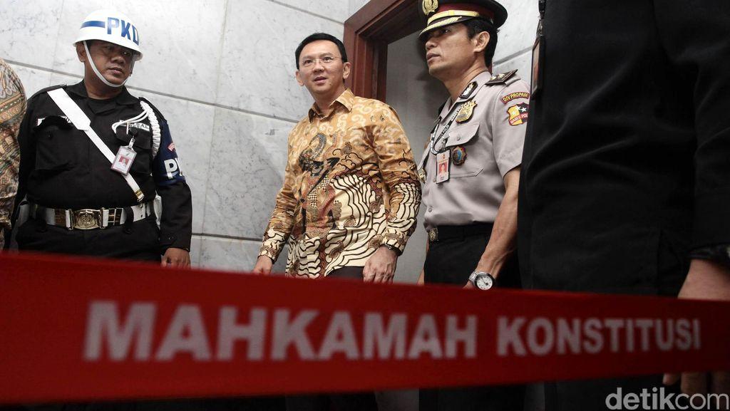 Ahok: Bilang ke Habiburokhman Adu Argumen Jangan di Media, Ayo ke MK!
