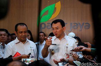 Ahok Resmikan Kantor PD Pasar Jaya