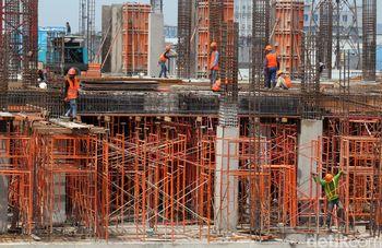 Pembangunan Pasar Senen Terus Dikebut