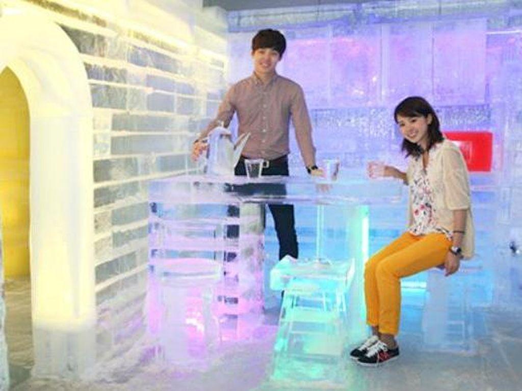 Museum Keren di Seoul, Ruangan Hingga Perosotannya Terbuat dari Es!