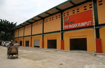 Pembangunanan TPS Pasar Rumput Hampir Rampung