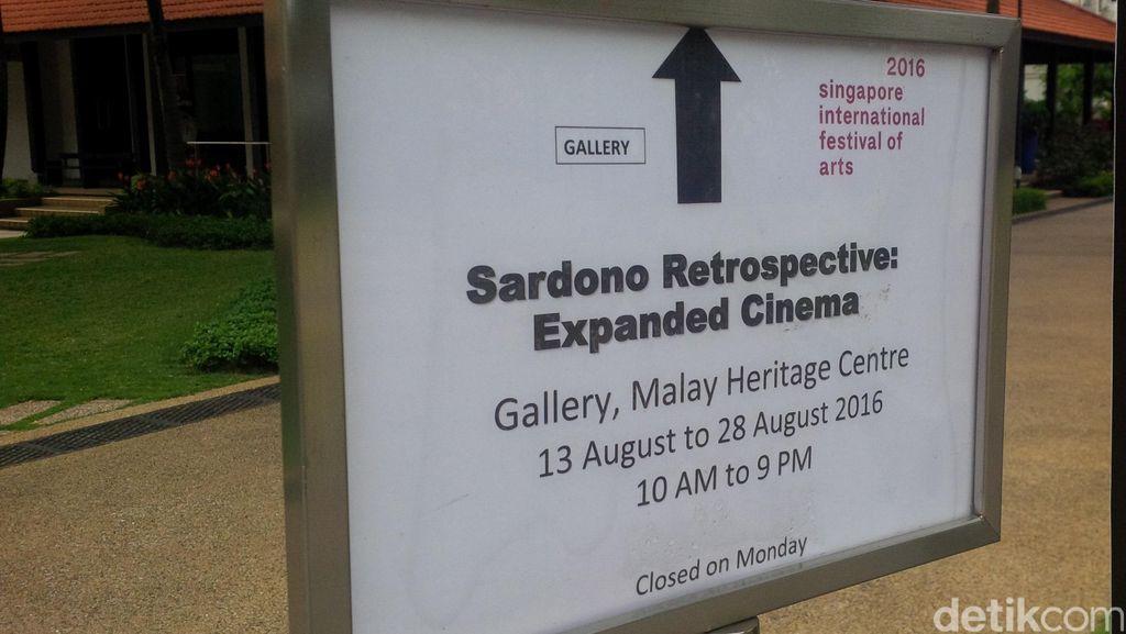 Jejak Masa Lalu Sardono W Kusumo dalam 'Expanded Cinema'