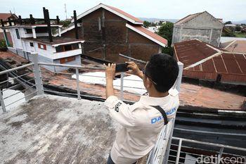 Risers Kunjungi Monumen Kapal di Atas Rumah