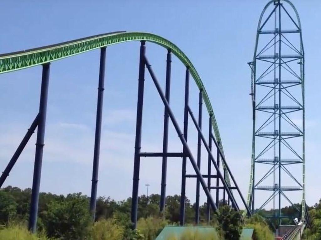 Seperti Apa Roller Coaster Tertinggi di Dunia?