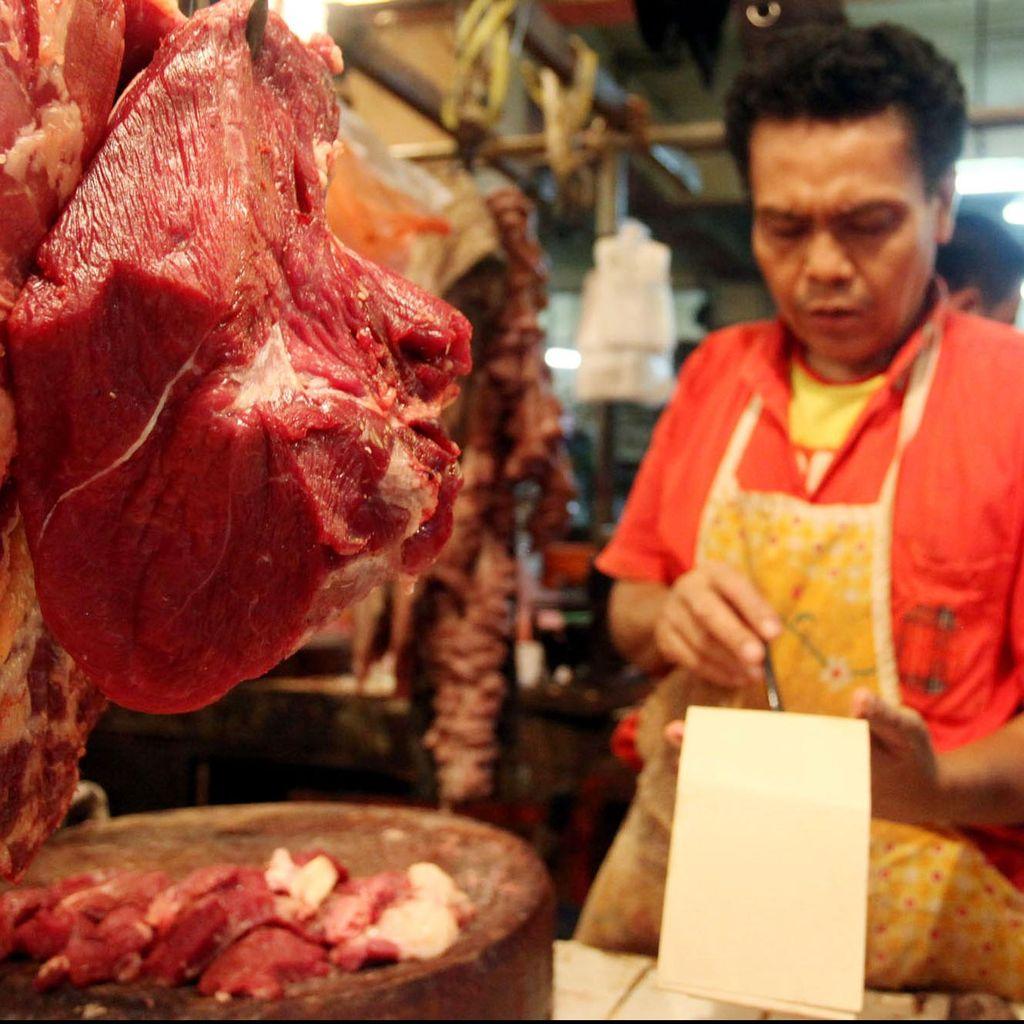 Jokowi Minta Harga Daging Sapi Turun, di Jakarta Masih Rp 120.000/Kg