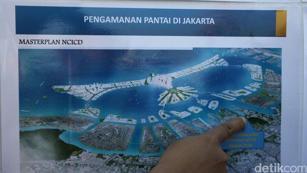 Jokowi Ingin Tanggul Raksasa Jadi Solusi Pengelolaan Air di Jakarta Utara