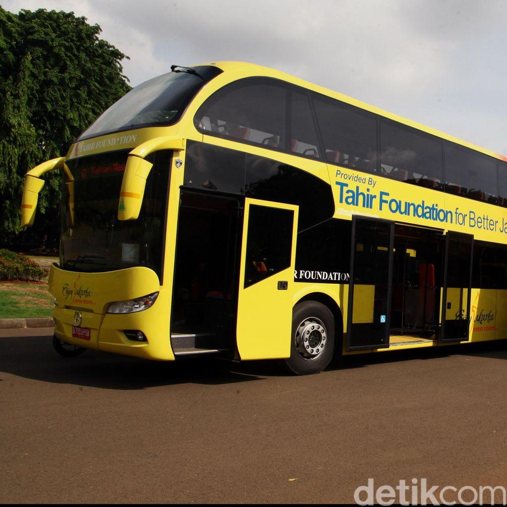 Bus Domapan Menambah Ikon Wisata Kota Yogyakarta