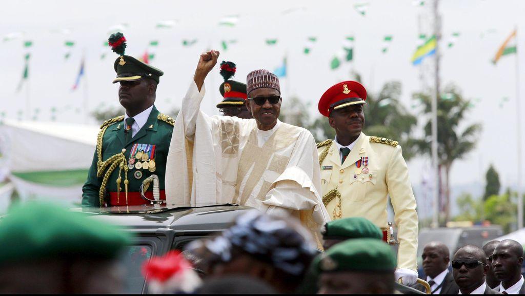 Sebut Istrinya Harus Ada di Dapur, Presiden Nigeria Dikecam