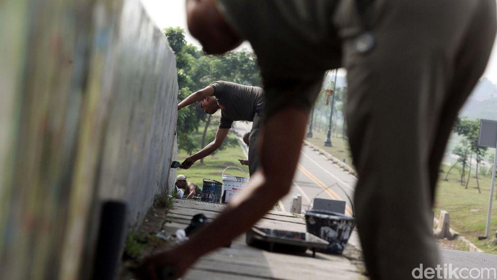 Antisipasi Isu SARA Pasca Coretan Liar di Mampang, Polisi Kumpulkan Tokoh Agama